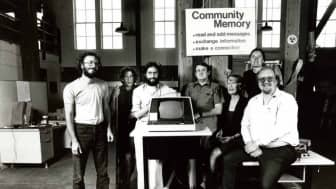 Before the internet, one of the earliest known social networking systems, Community Memory, was created in 1973.