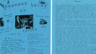 Nadine Monem considered many forms of art for this work, choosing to include colorful images of bands, zines, and flyers, and sharing first-hand accounts from the women and girls who supported the campaign.