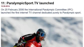 In 2006, the IPC launched ParalympicSport.