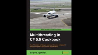 "Next, at #4, is ""Multithreading in C# 5.0 Cookbook."""