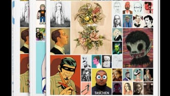 This gigantic 2-book slipcase set features the biggest players in the highly competitive field of illustration.
