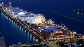 "It boasts tourist attractions which include ""Millennium Park,"" ""Willis Tower Skydeck,"" ""Art Institute of Chicago,"" and ""Navy Pier,"" among others."