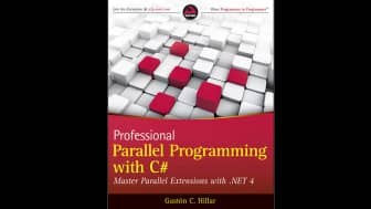 "At #5 is ""Professional Parallel Programming with C#."""