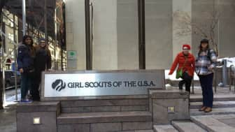 In 1947, the name of the organization reached its current form, Girl Scouts of the United States of America.
