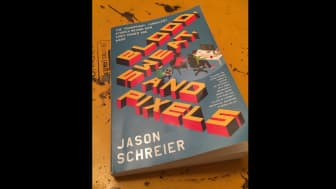 "#1 on the list is ""Blood, Sweat, and Pixels: The Triumphant, Turbulent Stories Behind How Video Games Are Made."""