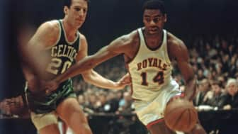 In the 1960s, the team contended for the NBA East every year behind star Oscar Robertson, but were unable to get past the powerhouse Boston Celtics.