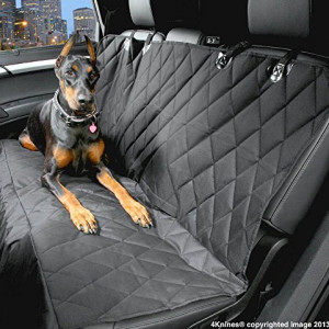 Dog Seat Cover With Nonslip Backing