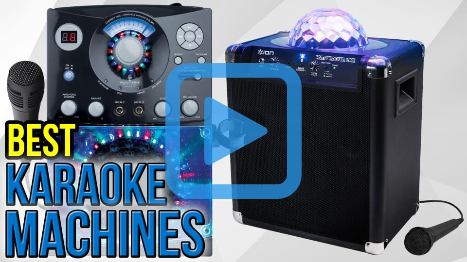 the best karaoke machine for home use