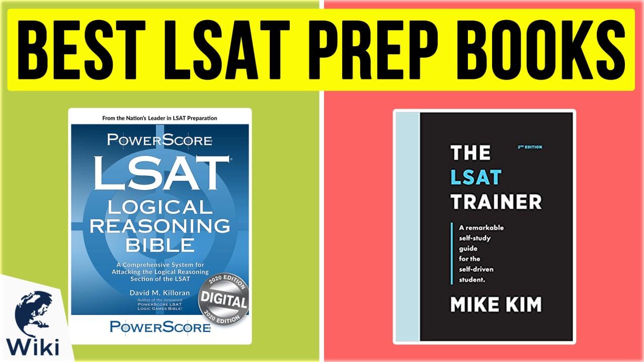 10 Best LSAT Prep Books
