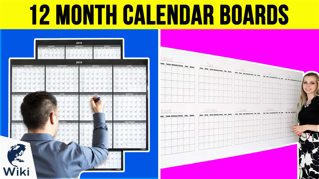 10 Best 12 Month Calendar Boards