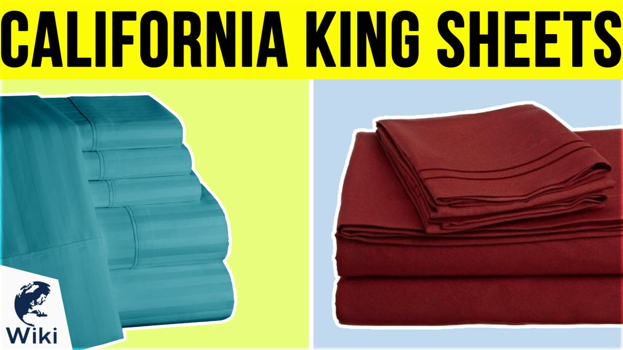 8 Best California King Sheets
