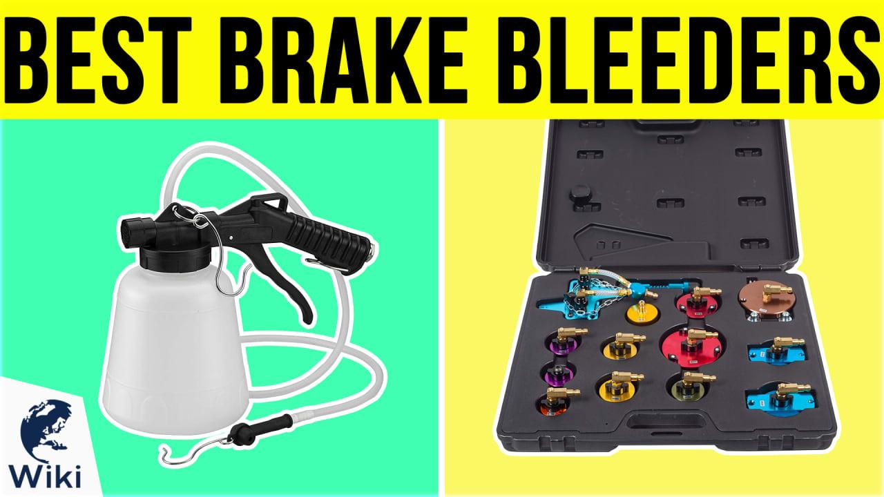 10 Best Brake Bleeders