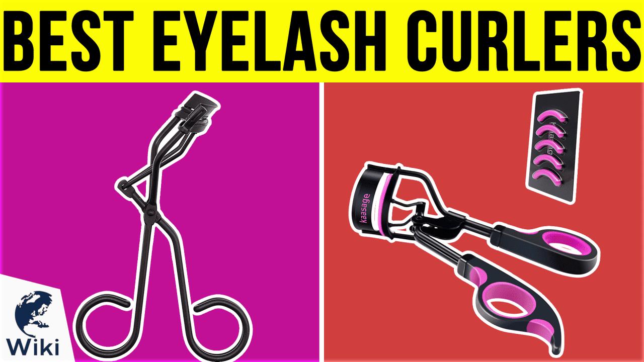 10 Best Eyelash Curlers