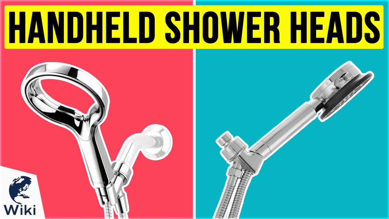 10 Best Handheld Shower Heads