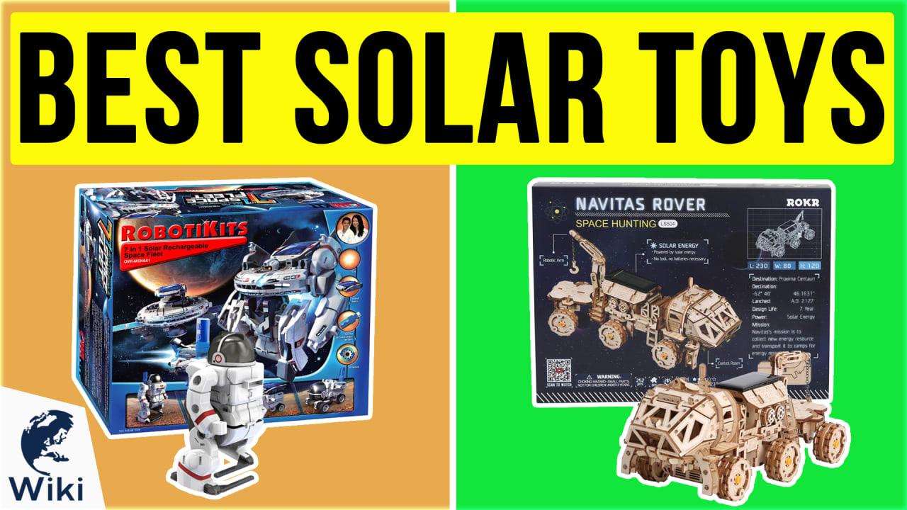 10 Best Solar Toys