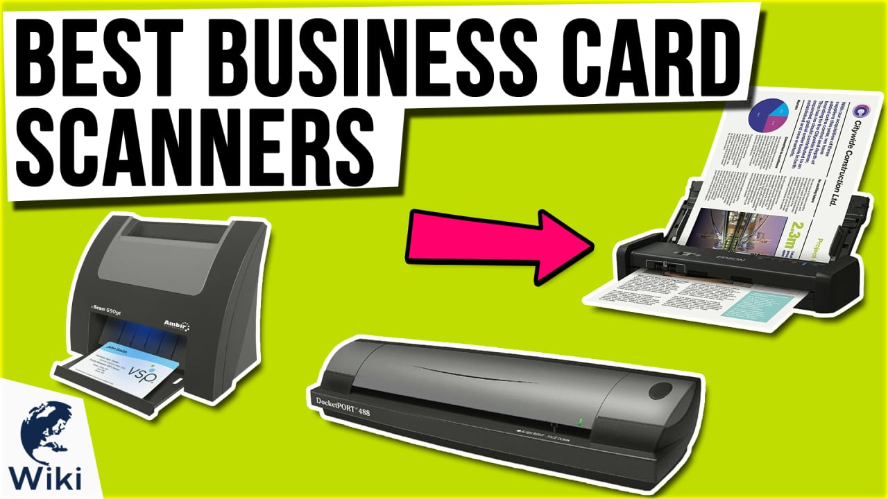 10 Best Business Card Scanners