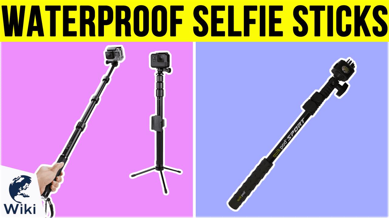 8 Best Waterproof Selfie Sticks