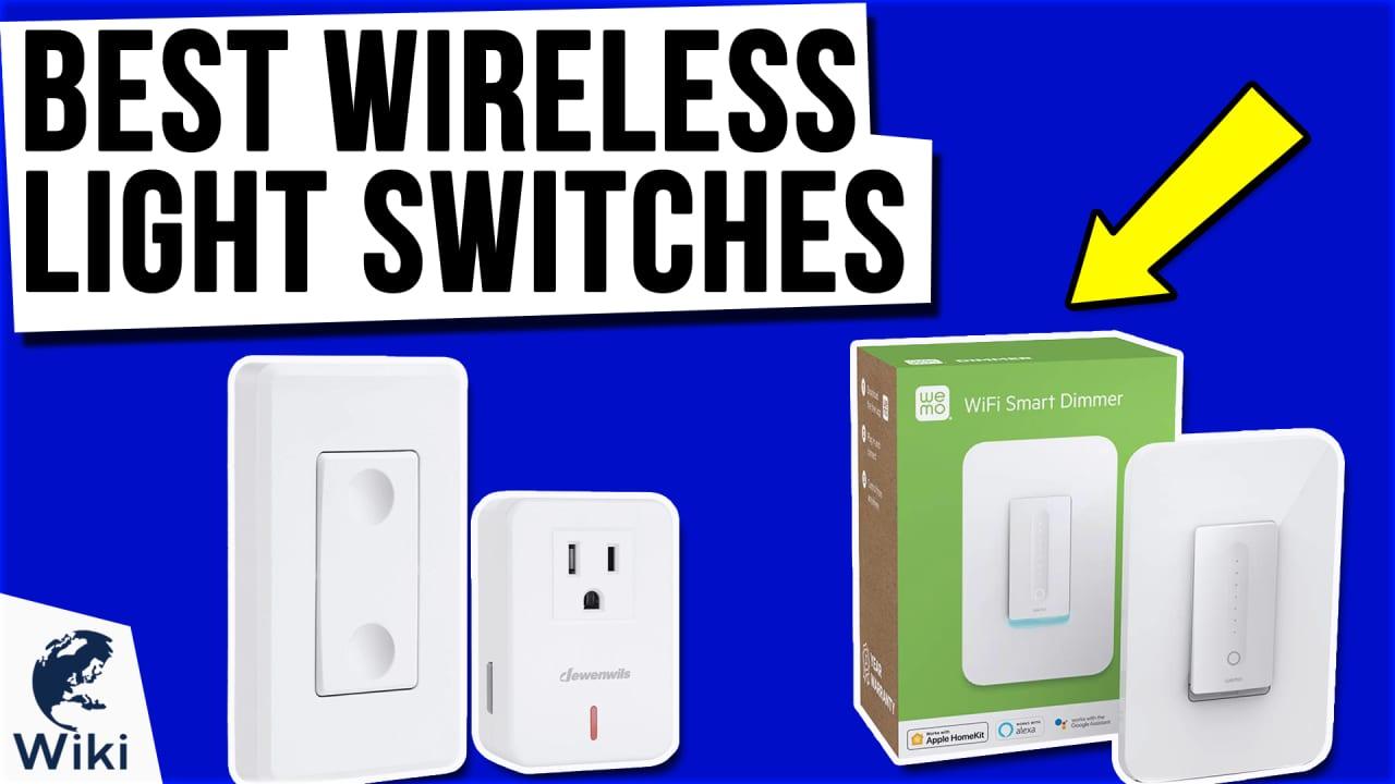 10 Best Wireless Light Switches