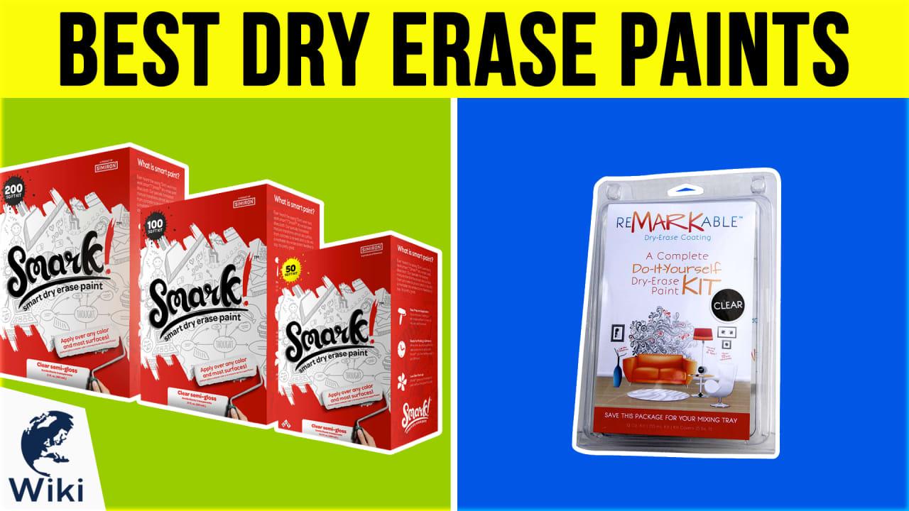 7 Best Dry Erase Paints