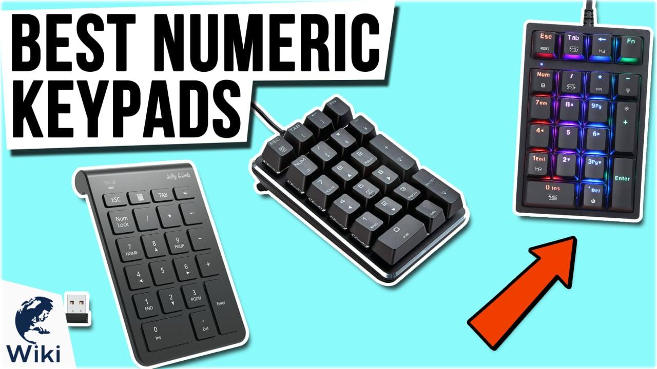10 Best Numeric Keypads