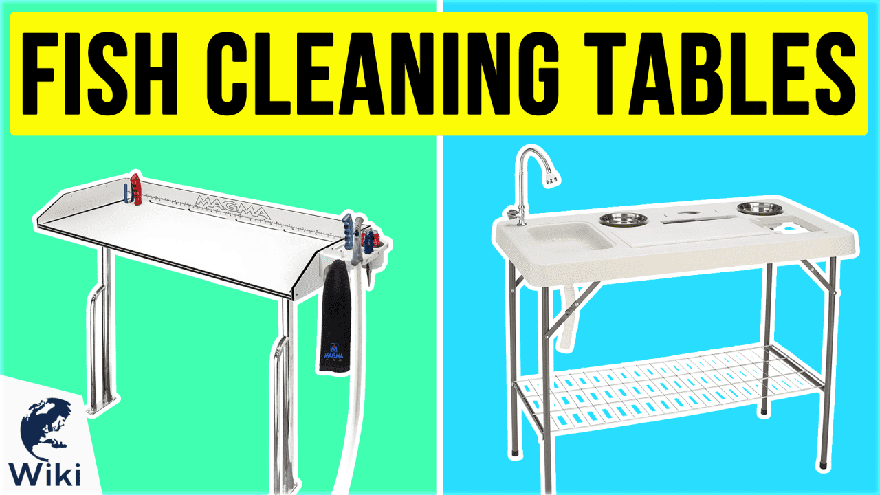 8 Best Fish Cleaning Tables
