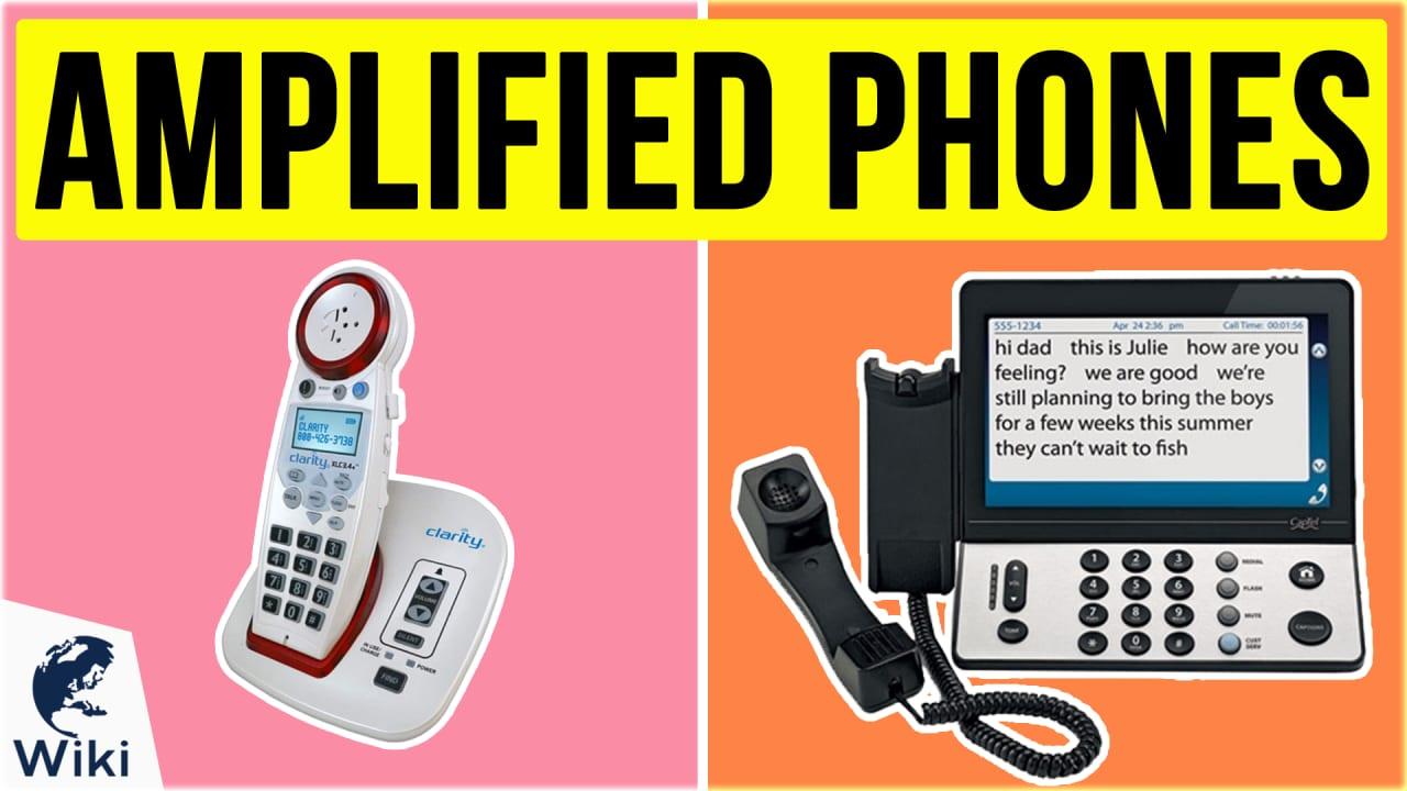 10 Best Amplified Phones