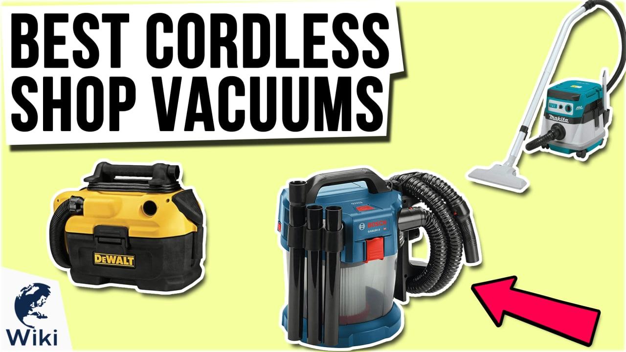 9 Best Cordless Shop Vacuums