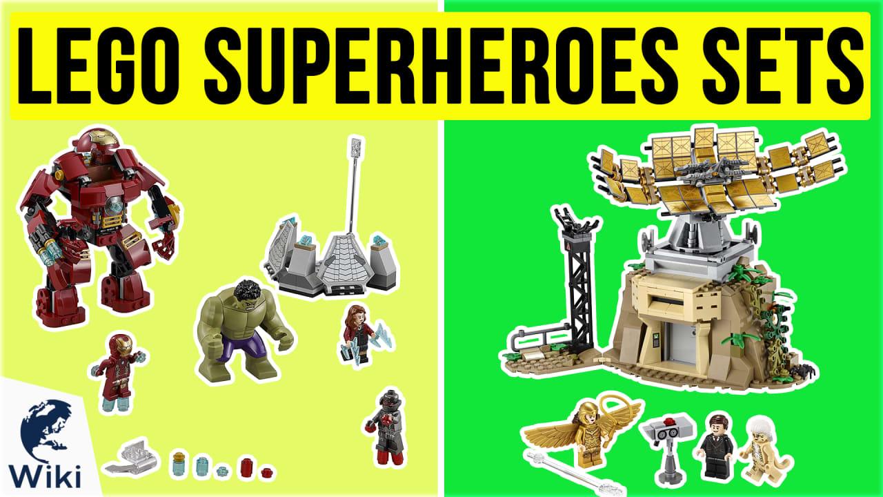 10 Best Lego Superheroes Sets