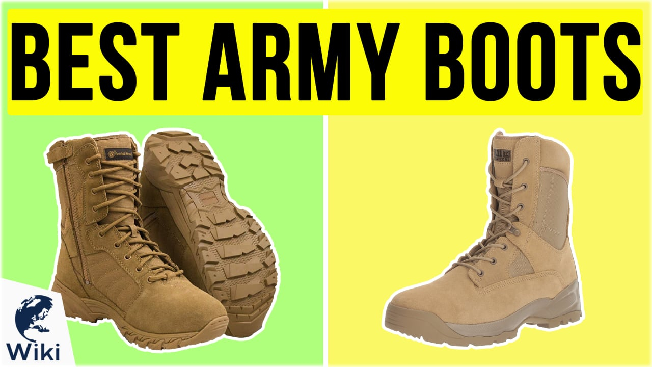 10 Best Army Boots