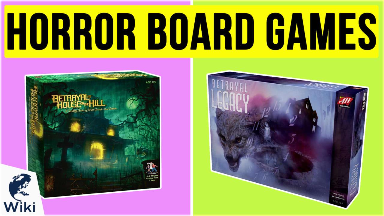 10 Best Horror Board Games
