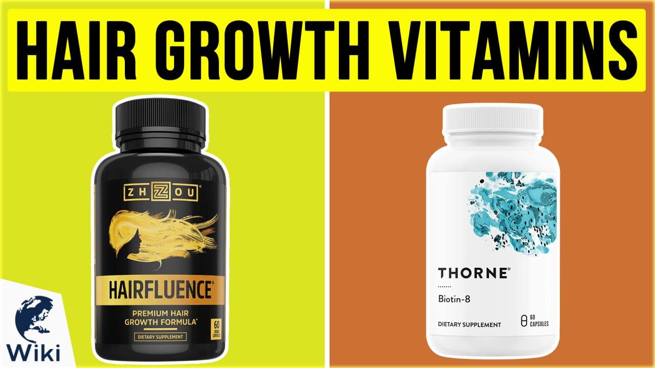 10 Best Hair Growth Vitamins