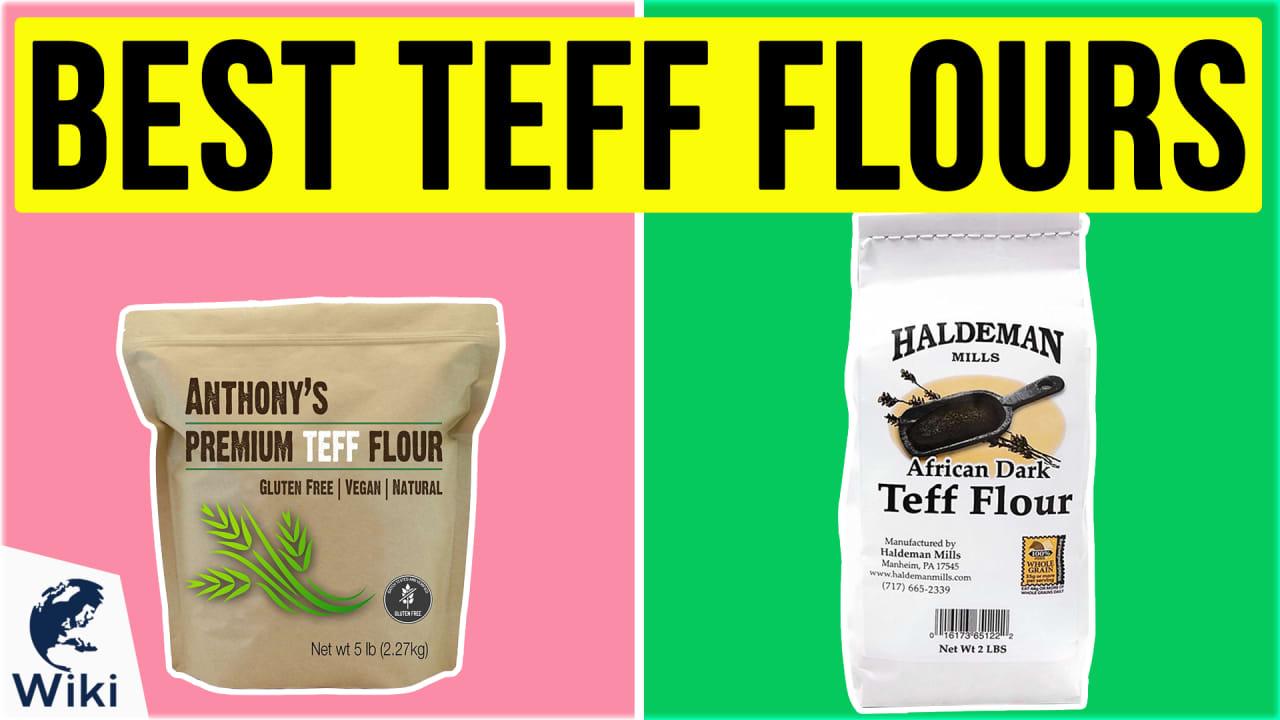 6 Best Teff Flours