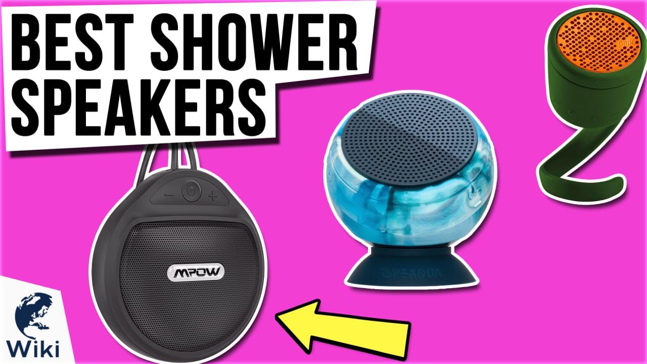 10 Best Shower Speakers