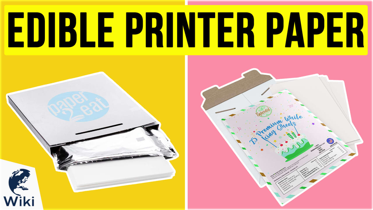 9 Best Edible Printer Paper