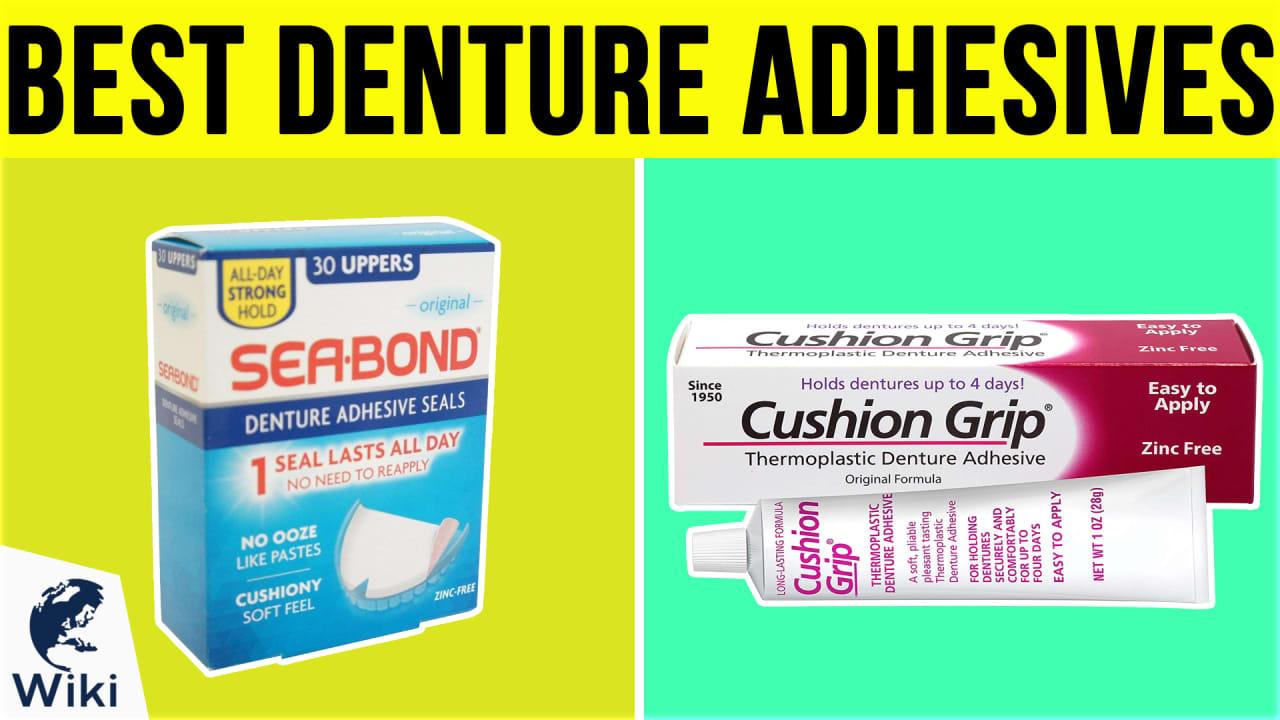 10 Best Denture Adhesives