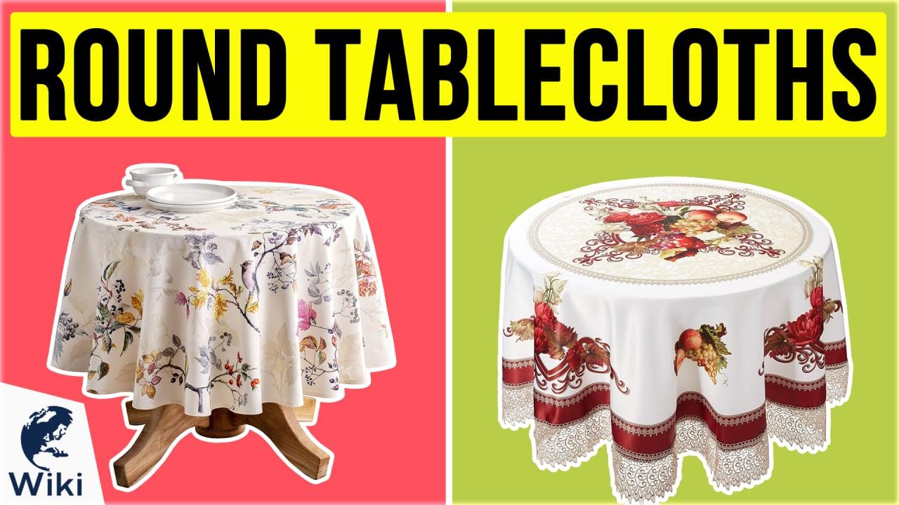 10 Best Round Tablecloths