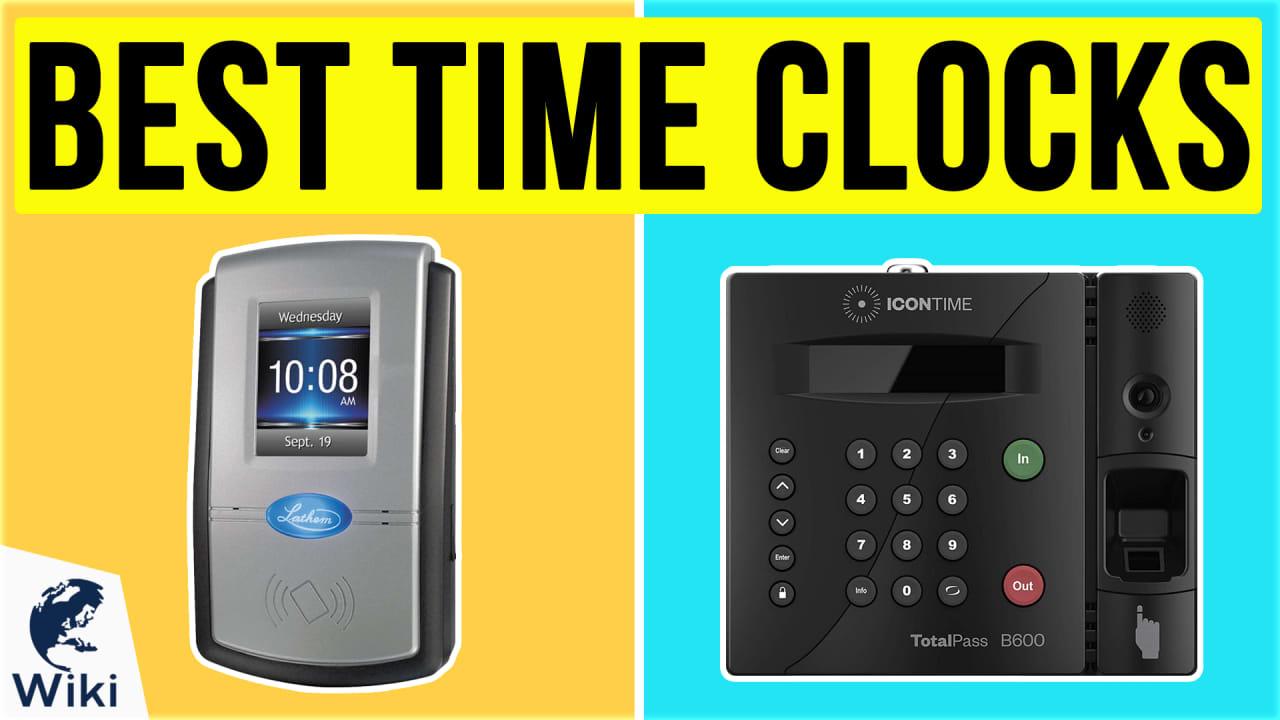 10 Best Time Clocks