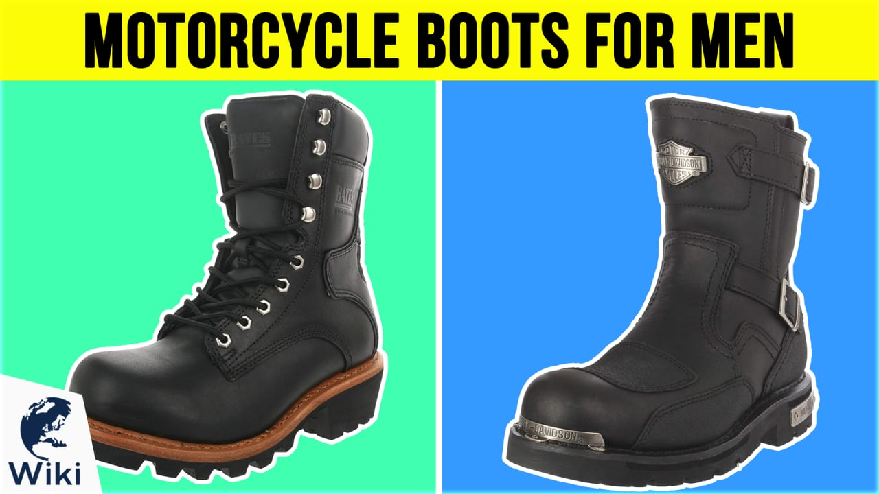 10 Best Motorcycle Boots For Men
