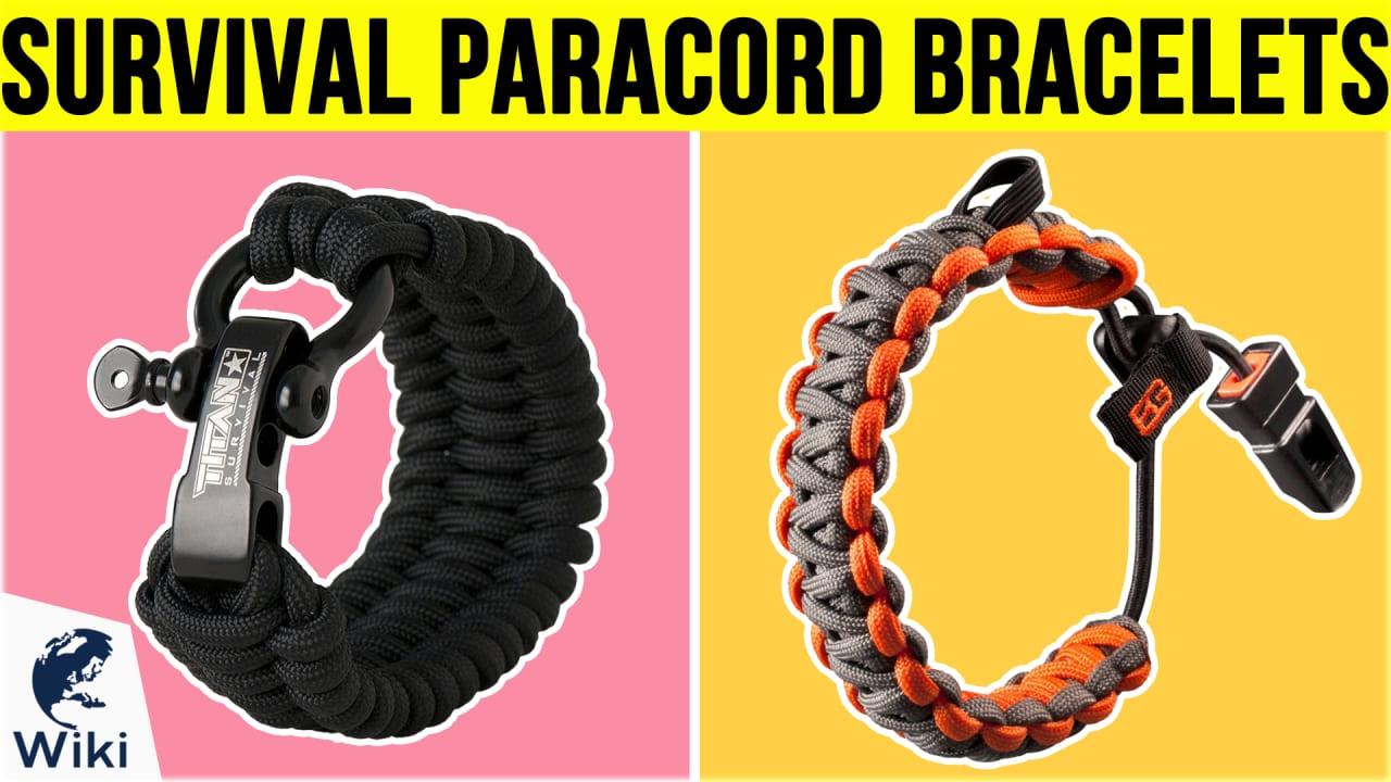 10 Best Survival Paracord Bracelets