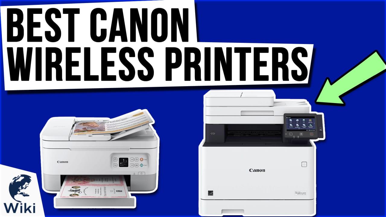 10 Best Canon Wireless Printers