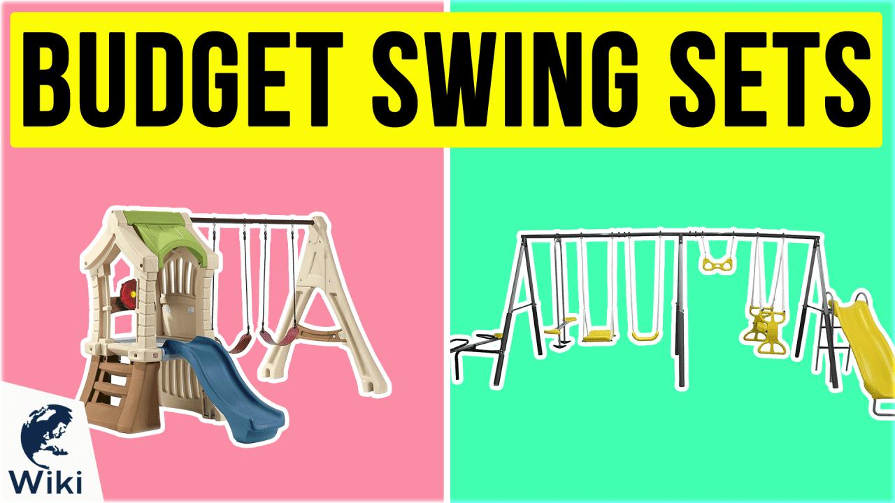 10 Best Budget Swing Sets