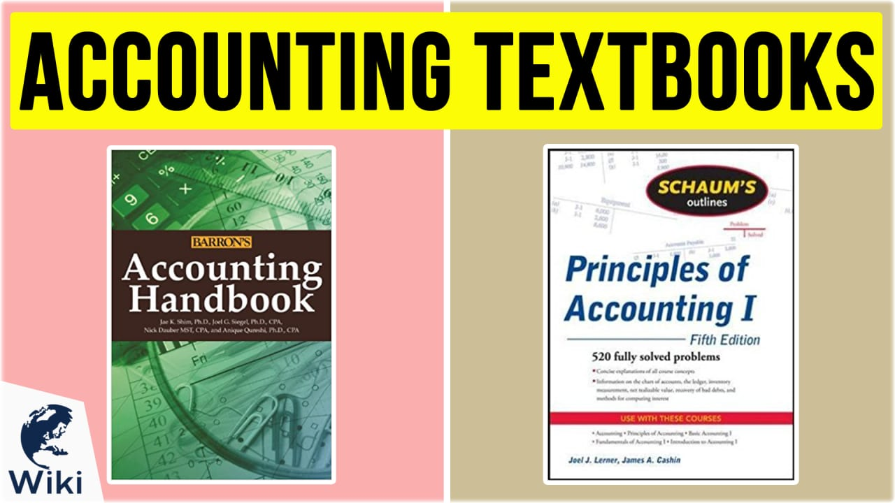 10 Best Accounting Textbooks