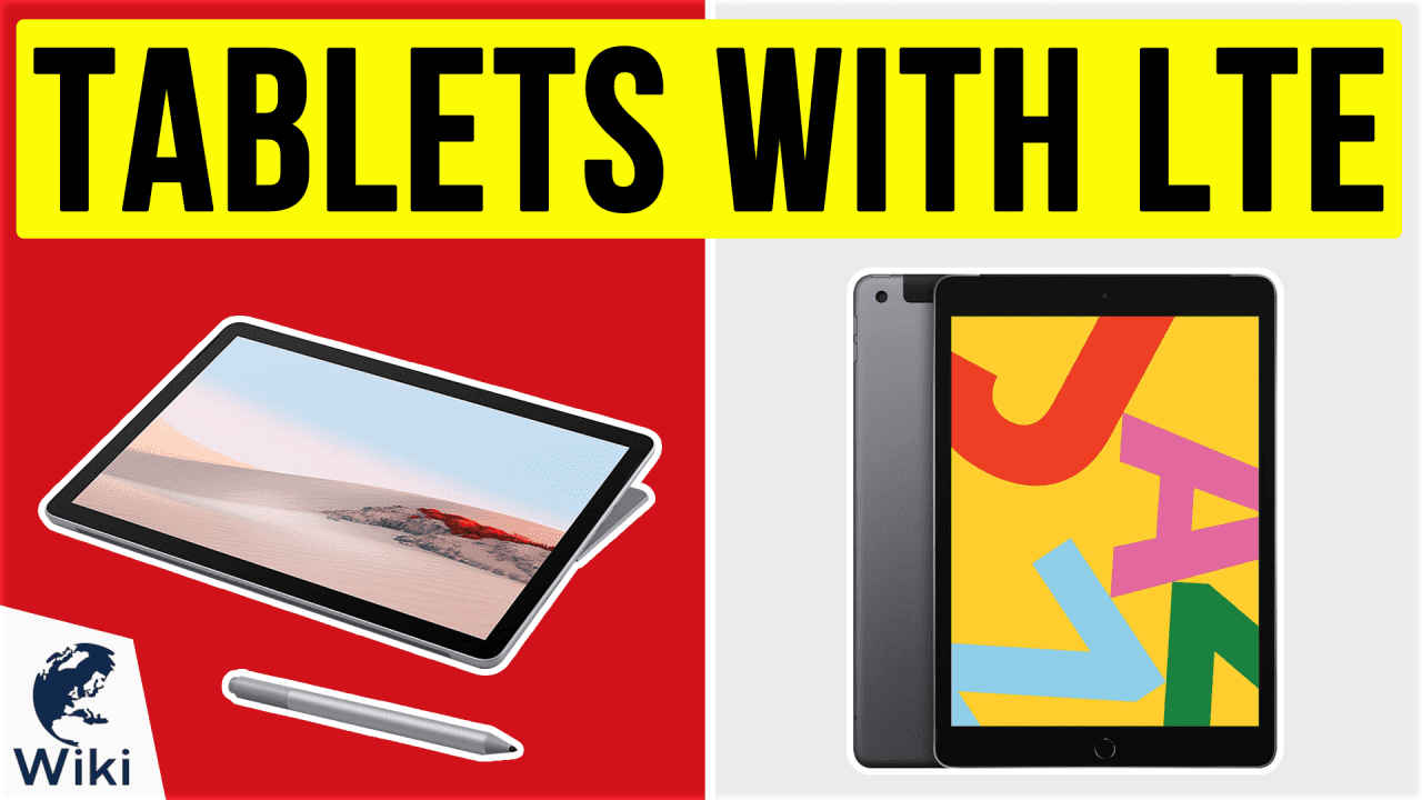 10 Best Tablets With LTE
