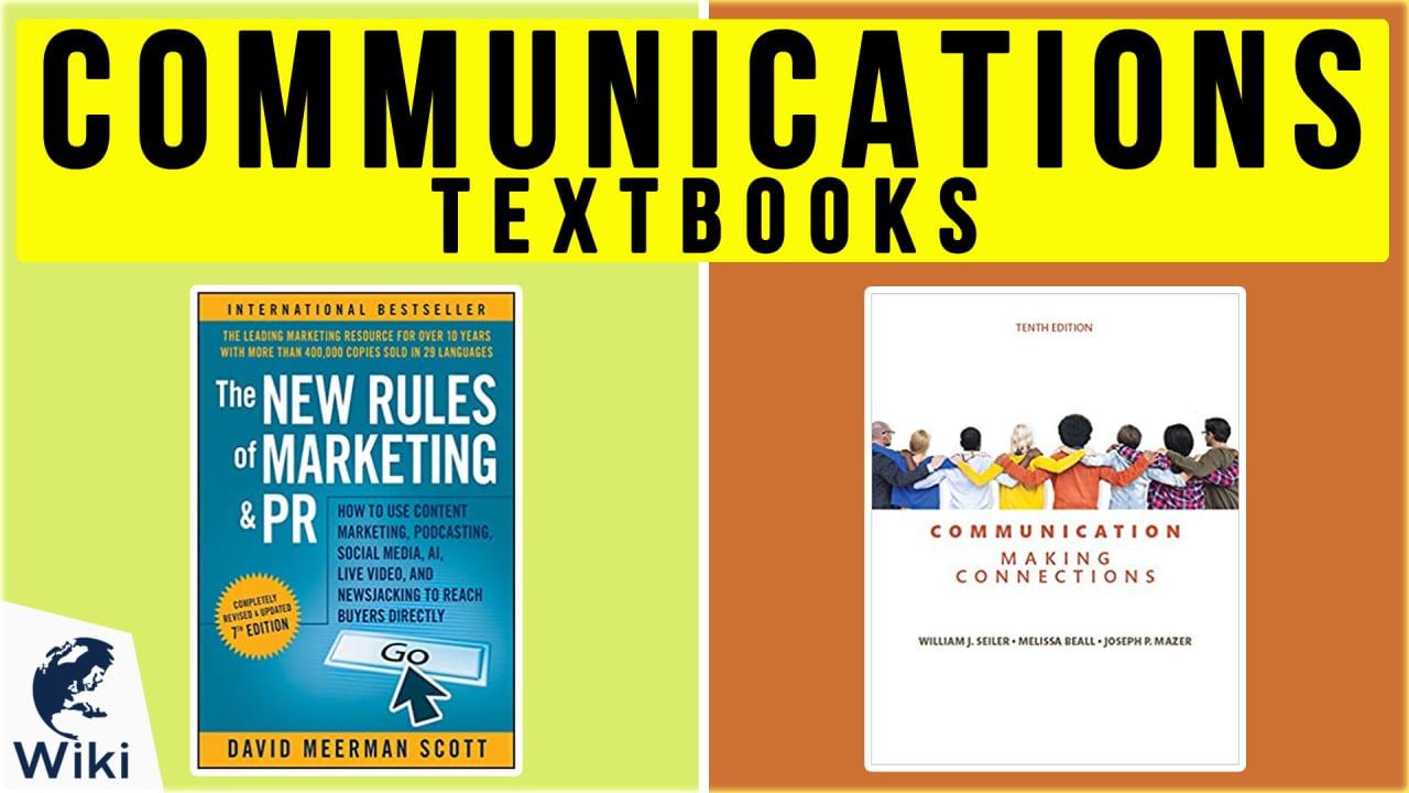 10 Best Communications Textbooks