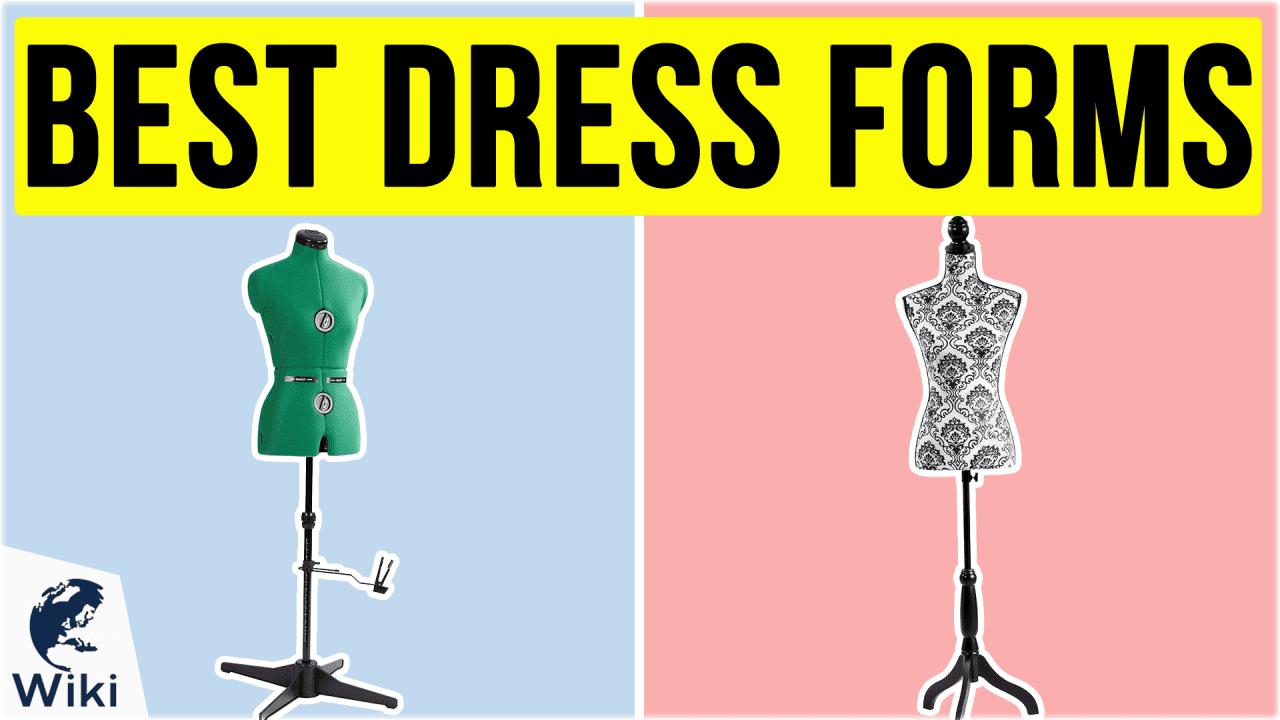 9 Best Dress Forms