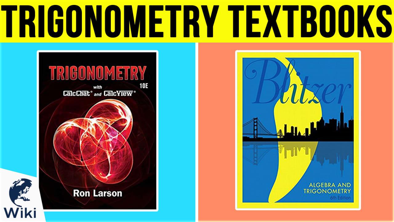 10 Best Trigonometry Textbooks