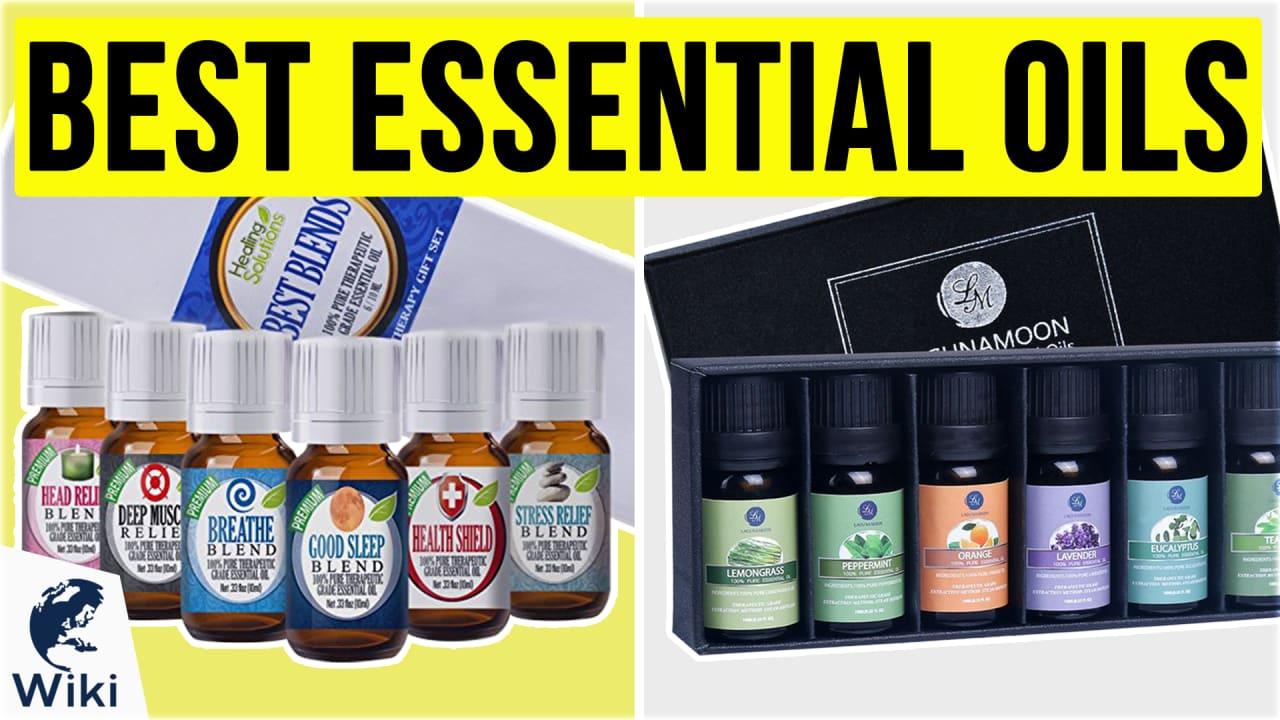 10 Best Essential Oils