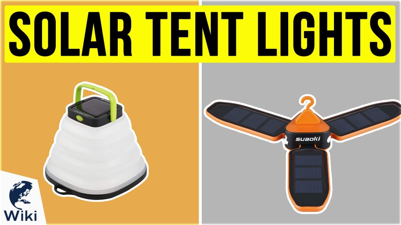 8 Best Solar Tent Lights