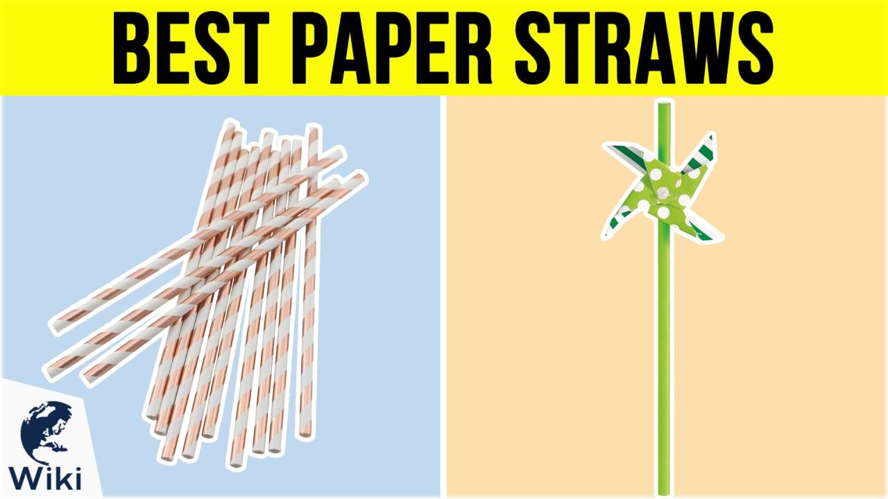 10 Best Paper Straws