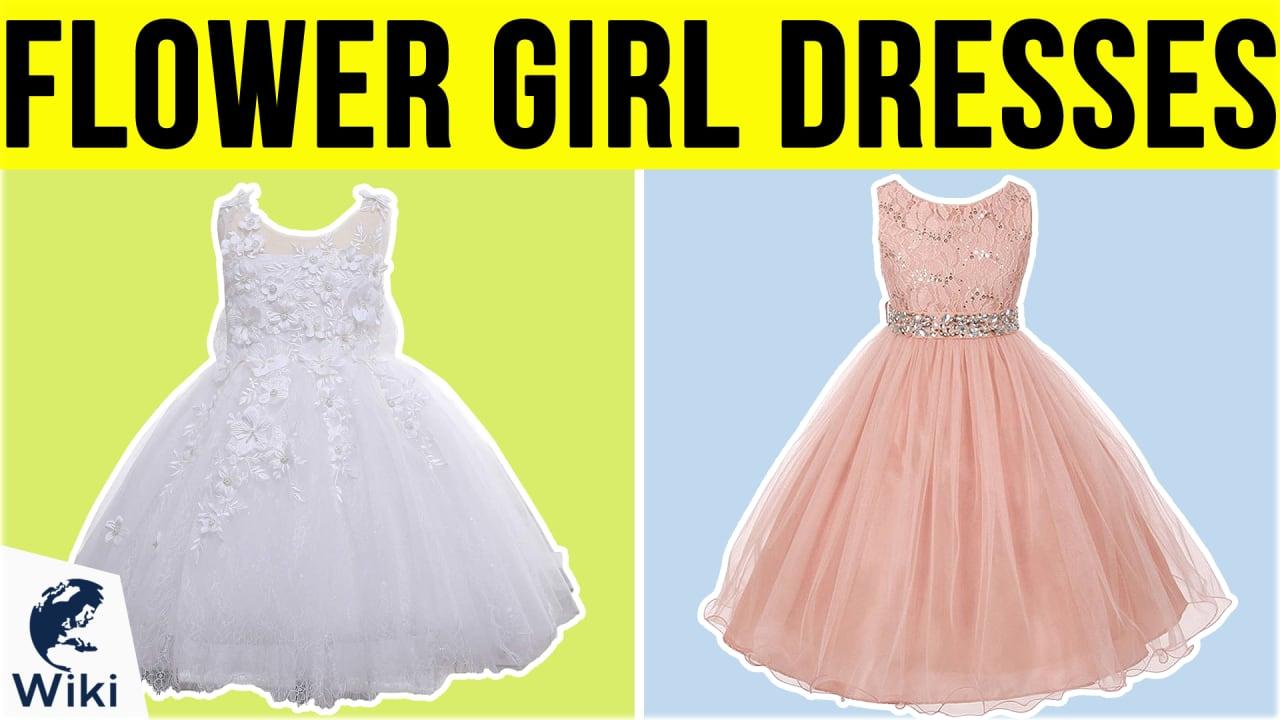 10 Best Flower Girl Dresses